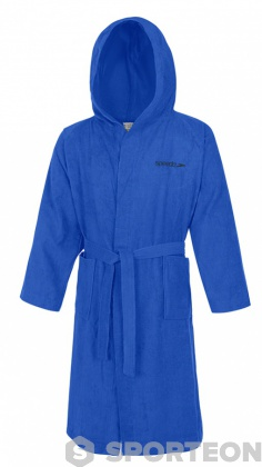 Speedo Bathrobe Microterry Blue