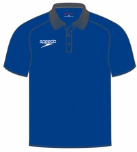 Speedo Dry Polo Shirt Blue