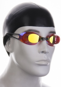 Okulary pływackie Mad Wave Liquid Racing Automatic Mirror