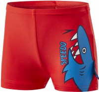 Speedo Fin Friends Aquashort Kid Risk Red/Neon Blue