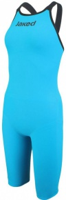 Jaked JKEEL Full Body Knee Open Back Turquoise/Black