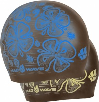 Mad Wave Reverse Flora Swim Cap