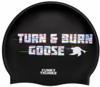 Funky Trunks Burn Goose Swimming Cap