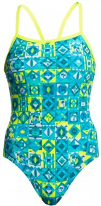 Funkita Lime Light Single Strap One Piece