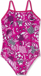 Speedo Tidal Idol Essential Frill one piece kid