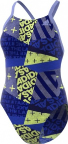 Adidas Performance Training Suit Allover Printed Blue/Chalk Purple