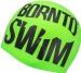 BornToSwim Seamless Reflective Swimming Cap