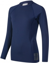 Speedo Boom Long Sleeve Rash Top Navy/Oxid Grey