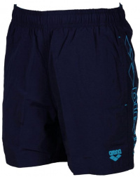 Arena Fundamentals Embroidery Boxer Junior Navy/Turquoise