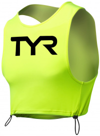 Tyr Hi-Vis Open Water Pinnie Fluo Yellow