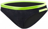 Tyr Sandblasted Cove Mini Bikini Bottom Black
