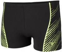 Speedo Sport Panel Aquashort Black/Bright Zest