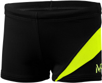 Michael Phelps Lony Boxer Boys Black/Bright Yellow