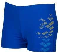 Arena Dongle Long Short Neon Blue