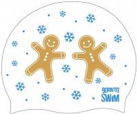 BornToSwim Christmas Gingerbread Cap
