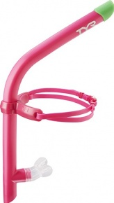 Rurka pływacka TYR Ultralight Snorkel różowy