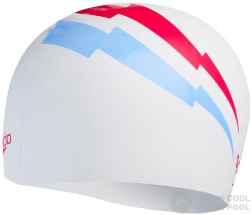 Czepek pływacki Slogan Print Cap