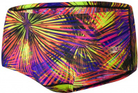Speedo Placement Digital 14cm Brief Black/Fluo Yellow/Scarlet/Violet