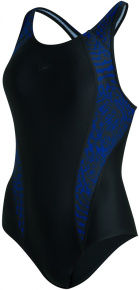 Speedo Allover Panel Laneback Black/Northern