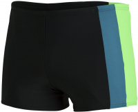 Speedo Colourblock Aquashort Black/Zest Green/Swell Green