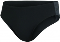Speedo Boom Logo Splice 7cm Brief Black/Oxid Grey