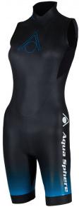 Aqua Sphere Aquaskin Shorty V3 Women Black/Blue